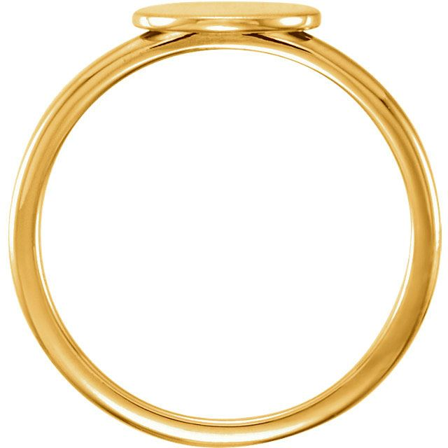 Picture of Posh Mommy Oval Plain Ring