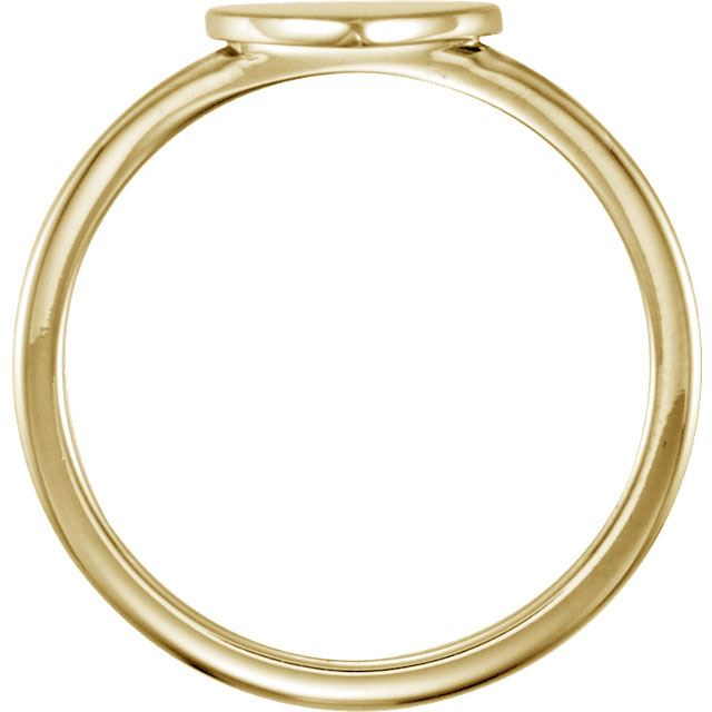 Picture of Posh Mommy Heart Plain Ring