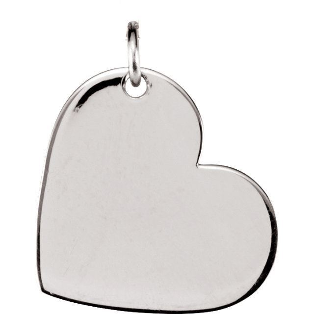 Picture of Be Posh Medium Heart Pendant