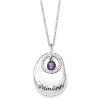 Picture of For You Grandma Silver Necklace