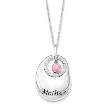 Picture of For You Mother Silver Necklace