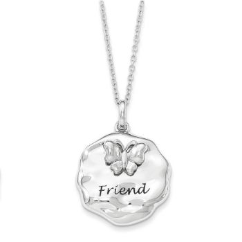 Picture of For You My Friend Silver Necklace