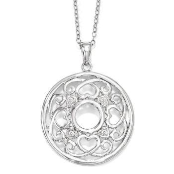 Picture of Wisdom Of Friendship Silver Pendant