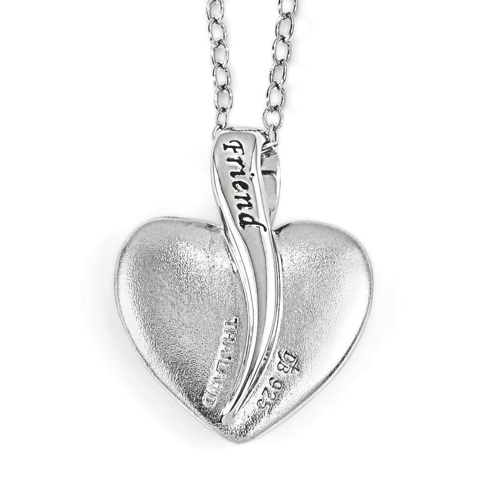 Picture of Your Friend Sterling SIlver Pendant
