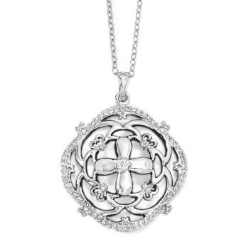 Picture of A Time For Miracles Silver Pendant