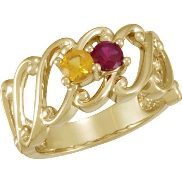 gold moms ring
