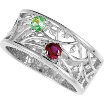 mother ring 2 stones