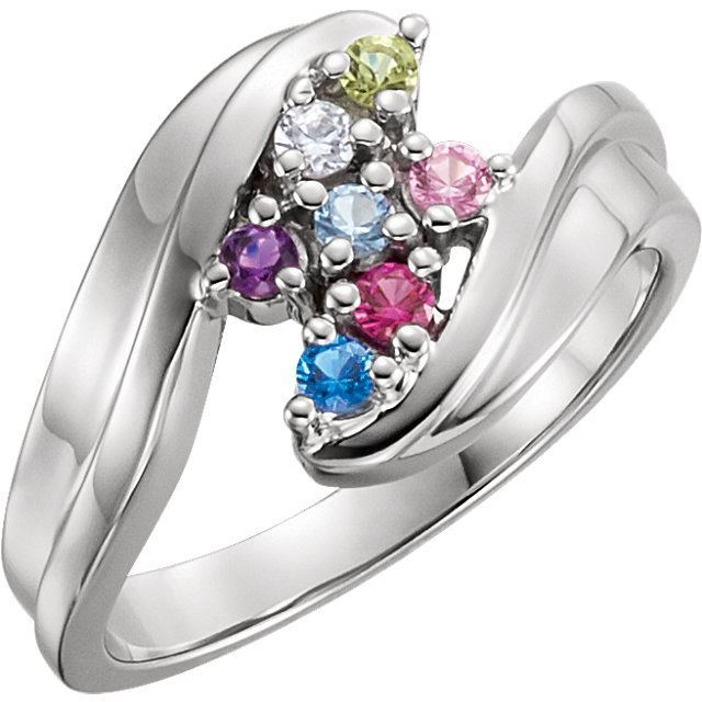 mother ring 7 stones