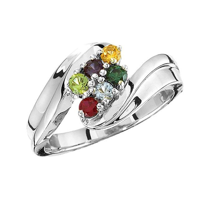 mother ring 6 stones