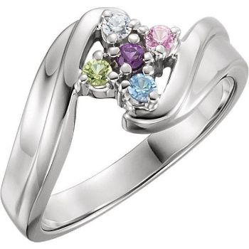 mother ring 5 stones