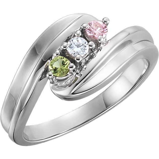 mother ring 3 stones