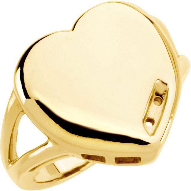 heart engraved moms ring 2 stones