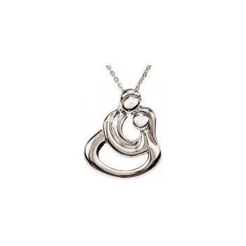 Picture of Couples Necklace Sterling Silver