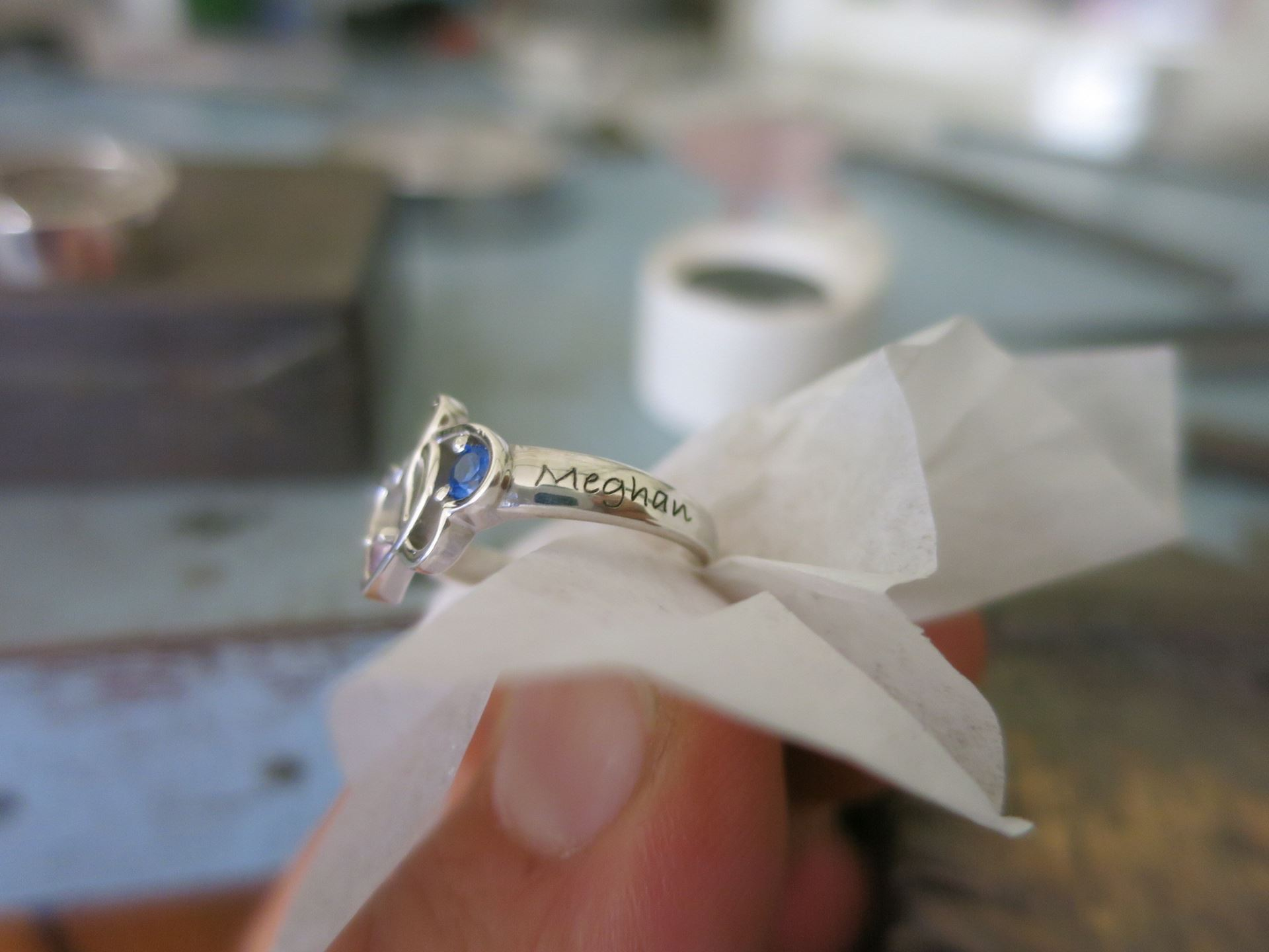Picture of Couples Heart Ring