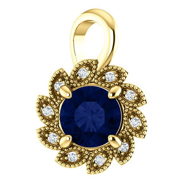 Picture of Halo-Style Pendant