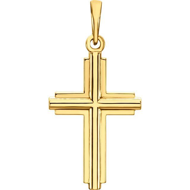 Picture of 14K Gold Cross Pendant