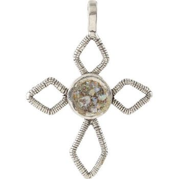 Picture of Ancient Roman Glass Cross Pendant