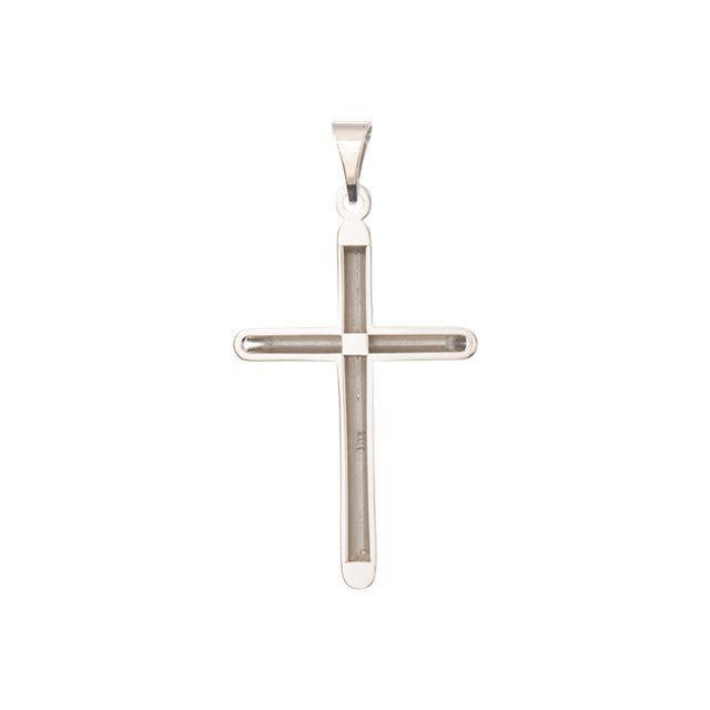 Picture of Unadorned Cross Pendant