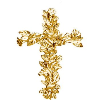 Picture of Floral-Inspired Cross Pendant