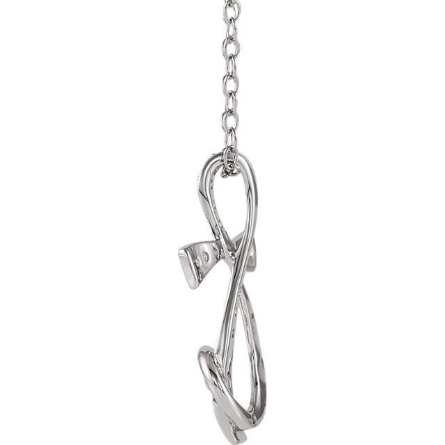 Picture of Sterling Silver Sing for Joy™ Necklace