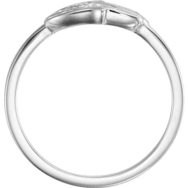 Picture of 14K Gold .03 CTW Diamond Hamsa Ring