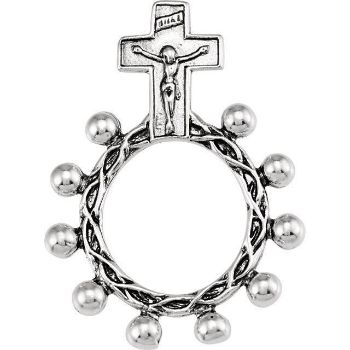 Picture of Sterling Silver Rosary Ring