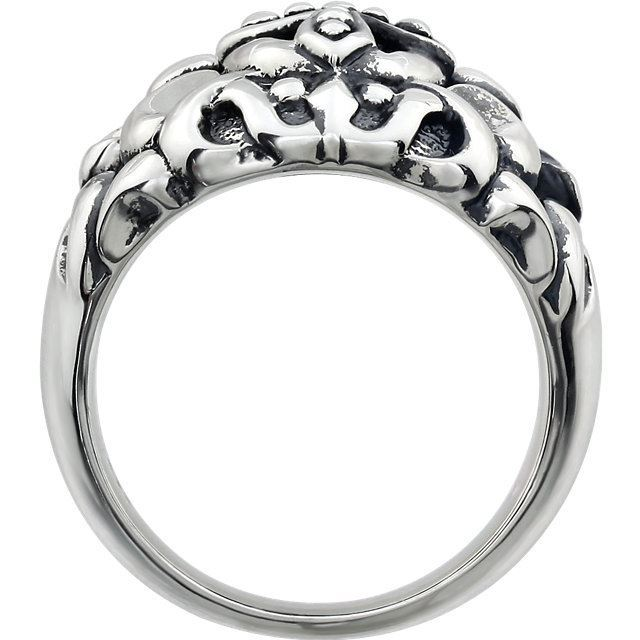 Picture of Sterling Silver Men's Cross Fashion Ring