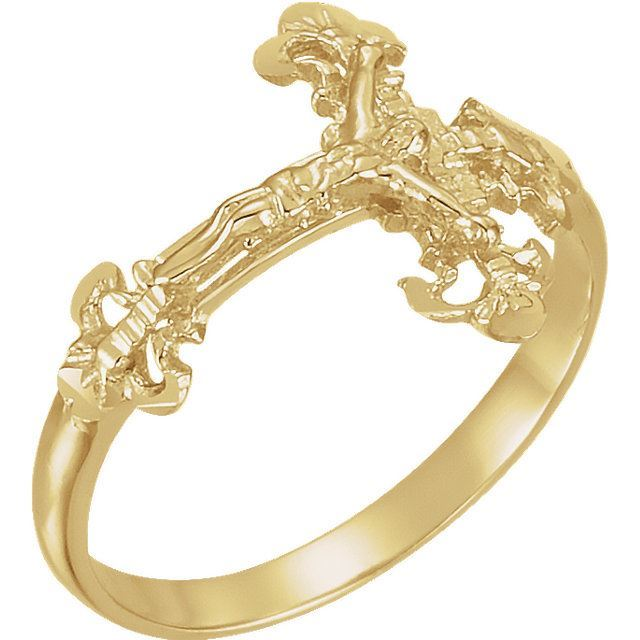 Picture of Ladies Crucifix Ring