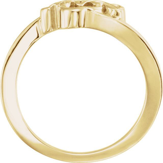 Picture of 14K Gold Youth Jesus Ring
