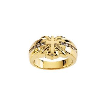 Picture of 14K Gold Cross Ring Mounting