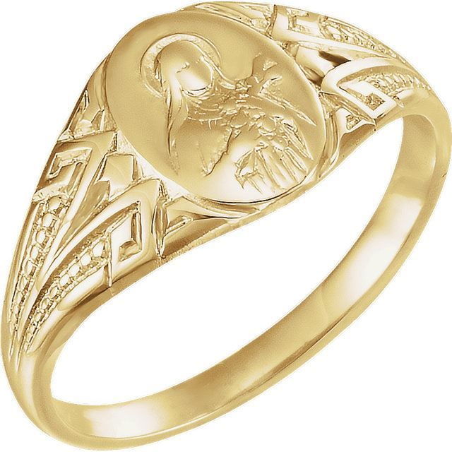 Picture of 14K Gold St. Theresa Ring