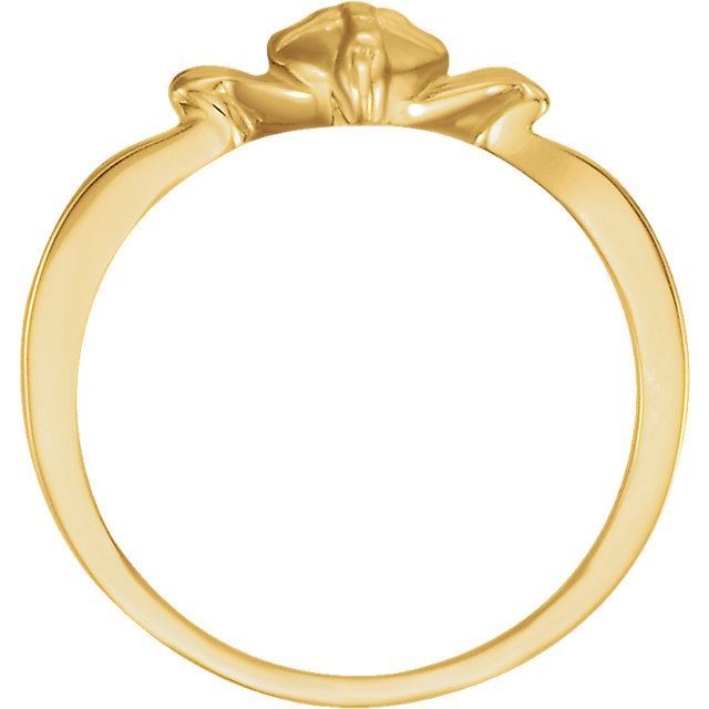 Picture of 14K Gold The Gift Wrapped Heart® Ring Size 7