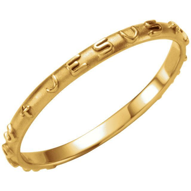 Picture of 14K Gold Prayer Ring