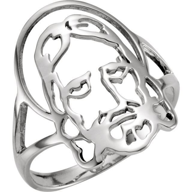 Picture of Face of Jesus Ring
