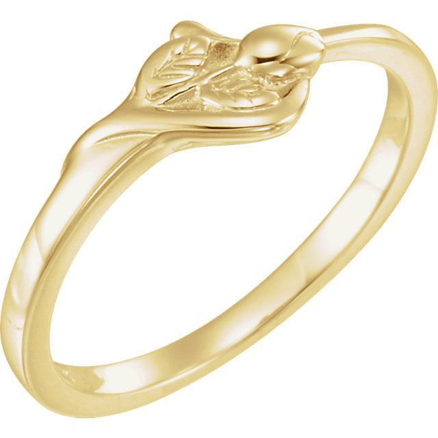 Picture of 14K Gold The Unblossomed Rose® Ring