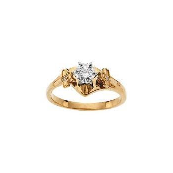 Picture of 14K Gold Engagement Ring Mounting