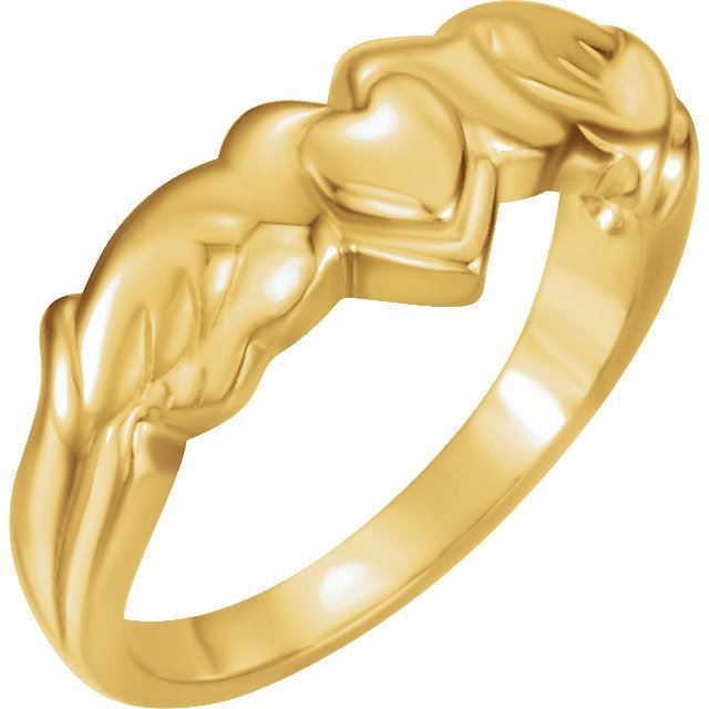 Picture of Holy Spirit Heart Ring