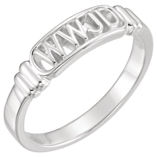 Picture of What Would Jesus Do Ring