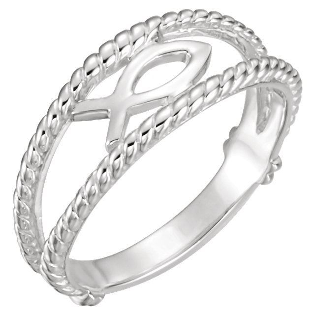 Picture of Ichthus (Fish) Chastity Ring