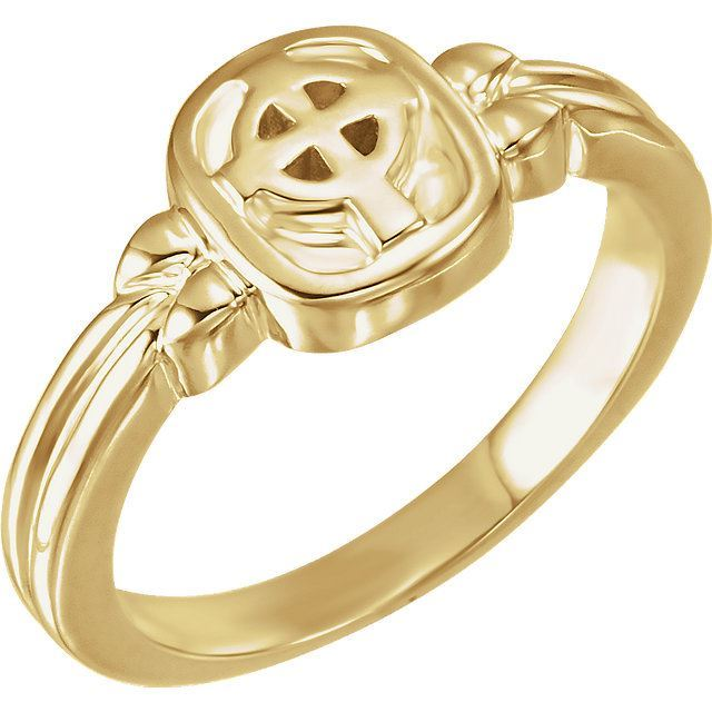 Picture of 14K Gold Celtic Cross Ring