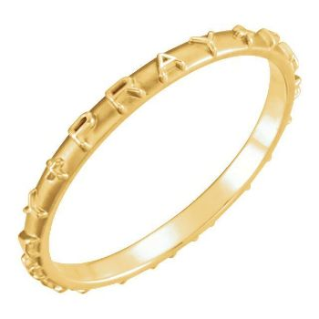 Picture of 14K Gold Pray Ring