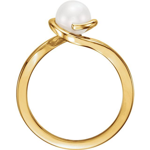 Picture of 14K Gold Freshwater Cultured Pearl Ring