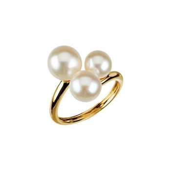 Picture of Three-Stone Ring for Pearl