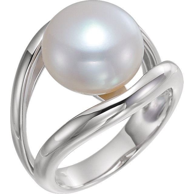 Picture of Accented Ring for Pearl
