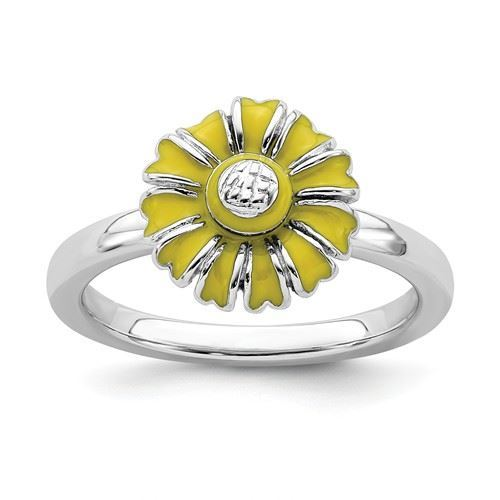 Picture of Silver Ring Daisy April Flower
