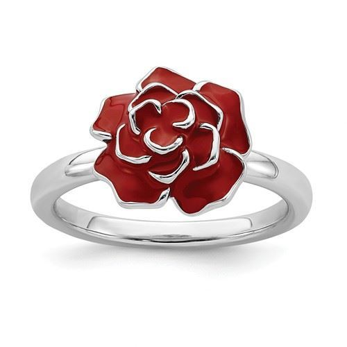 Picture of Silver Ring Rose June Flower