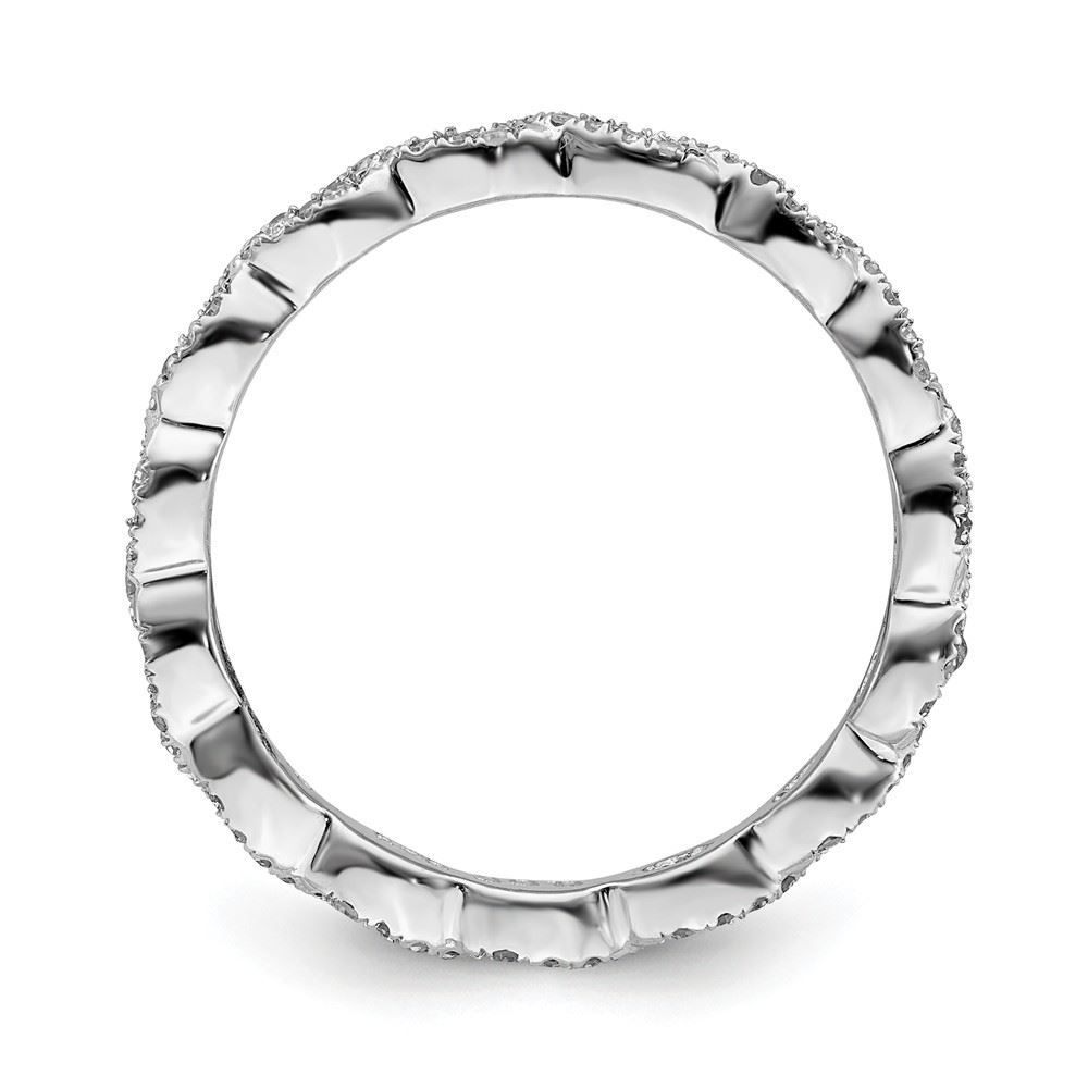 Picture of Sterling Silver Diamond Ring
