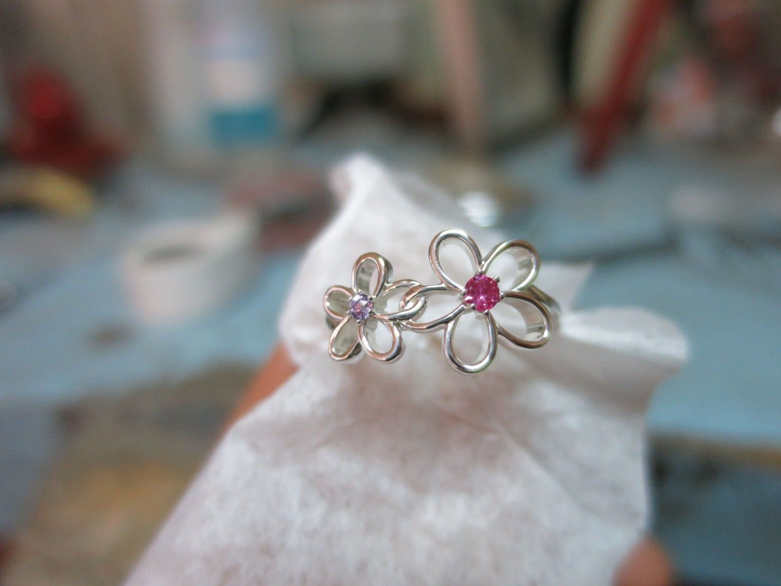 Picture of Gold  Floral-Inspired Ring